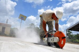 Concrete Cutting Contractor Northamptonshire